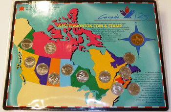 1992 SPECIAL EDITION CANADIAN 125 12 QUARTER COLLECTION