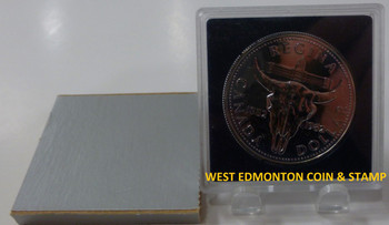 1982 BRILLIANT UNCIRCULATED SILVER DOLLAR - REGINA CENTENNIAL