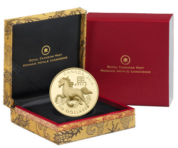 2014 $150 GOLD COIN - YEAR OF THE HORSE