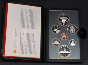 1982 PROOF DOUBLE DOLLAR SET