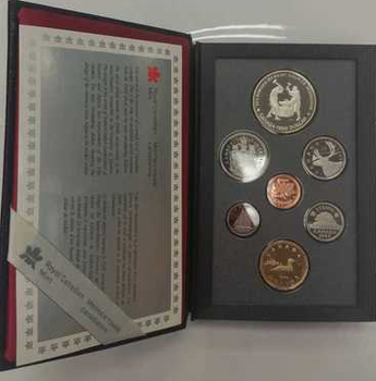1988 PROOF DOUBLE DOLLAR SET