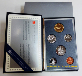 1988 6-COIN SPECIMEN SET