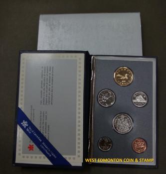 1989 6-COIN SPECIMEN SET