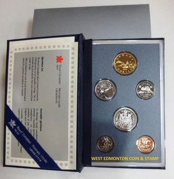 1993 6-COIN SPECIMEN SET