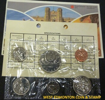 1982 UNCIRCULATED PROOF-LIKE SET
