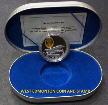 1992 THE CURTISS JN4 (CAN) AVIATION $20 COIN - 1-5