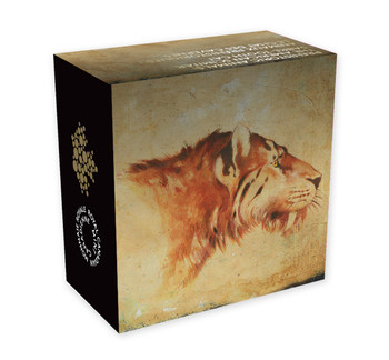 2015 $5 PURE GOLD COIN PREHISTORIC ANIMALS - AMERICAN SCIMITAR SABRE-TOOTH CAT