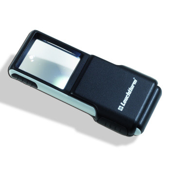 POCKET MAGNIFIER 3x WITH LED