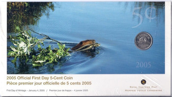 2005 5-CENT FIRST DAY COVER