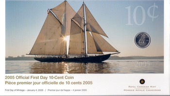 2005 10-CENT FIRST DAY COVER