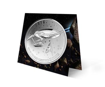 2016 $20 FOR $20 FINE SILVER COIN STAR TREK™: ENTERPRISE