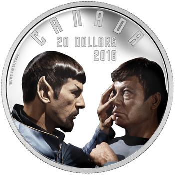 2016 $20 FINE SILVER COIN STAR TREK™: MIRROR MIRROR