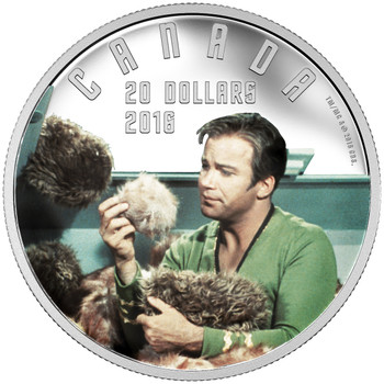 2016 $20 FINE SILVER COIN STAR TREK™: THE TROUBLE WITH TRIBBLES