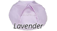 LAVENDER Satin Yarmulkes - With Colored Rim