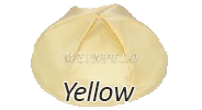 YELLOW Satin Yarmulkes - With Colored Rim