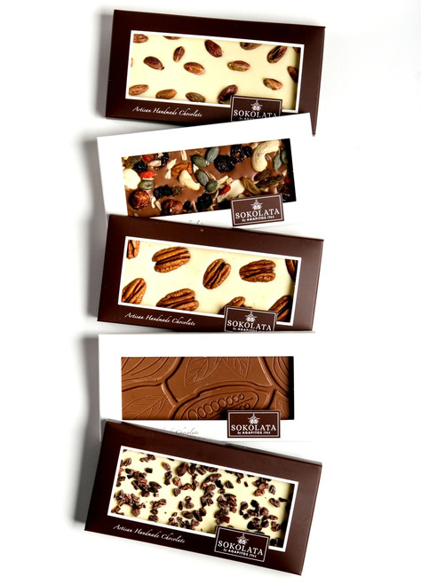 5 No added sugar Chocolate bars 100g [#17-31]