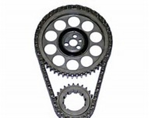 "ROLLMASTER Timing Chain Chevy Big Block Gen.VI PRE/EFI Gold Series with torrington bearing & nitrided sprockets, 9 keyway crank sprocket, -.005"" chain CS2095-LB5"