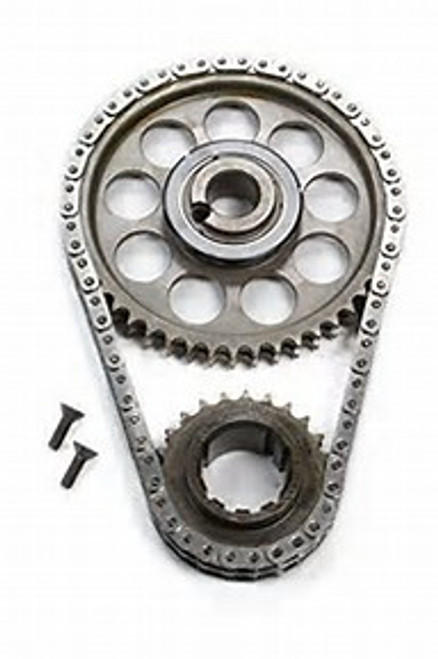 "ROLLMASTER Timing Chain Ford Big Block 429/460 PRE/EFI Gold Series with torrington bearing & nitrided sprockets, 9 keyway crank sprocket, -.005"" shorter chain CS4020LB5"