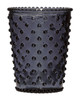 No. 88 Midnight Empty Hobnail Glass