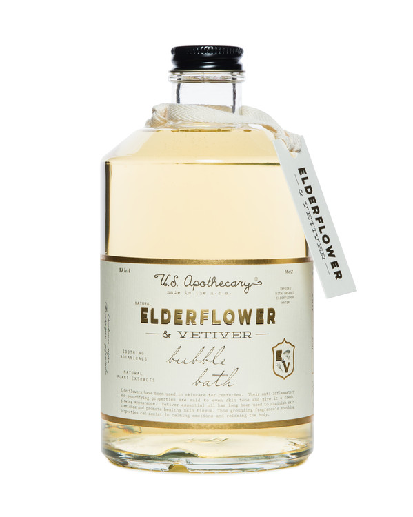 Elderflower + Vetiver Bath Elixir