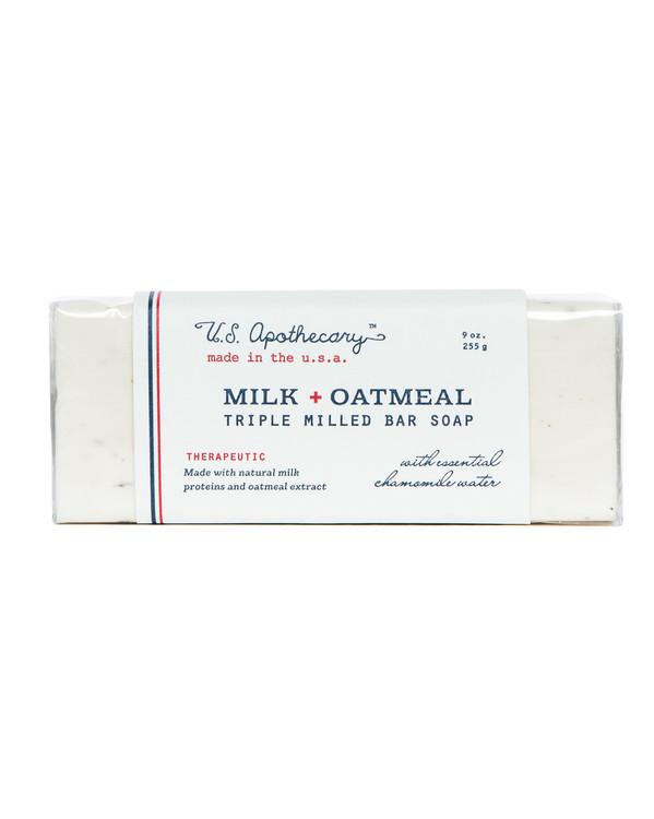 Milk + Oatmeal Triple Milled Bar Soap