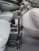 "RAM Universal No-Drill™ RAM POD HD Vehicle Mount with Double Socket Arm & 2.5"" Round Base AMPs Hole Pattern"