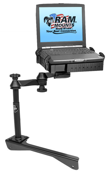 No-Drill™ Laptop Mount for the Dodge Charger Police Package