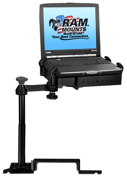 No-Drill™ Laptop Mount for the Ford Explorer and Police Interceptor Utility