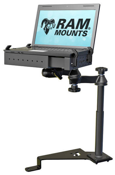 RAM No-Drill™ Laptop Mount for the 2015 - 2017 Ford F-150 & Transit Connect
