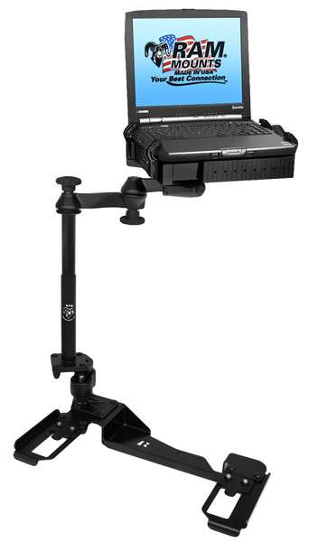 No-Drill™ Laptop Mount for the Chevrolet Impala Police Package