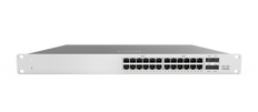 Meraki MS120-24P 1G L2 Cloud Managed 24x GigE 370W PoE Switch