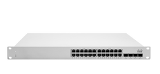 Meraki MS250-24 L3 Stck Cld-Mngd 24x GigE Switch