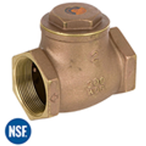NPT Swing Check Valves Lead Free Brass