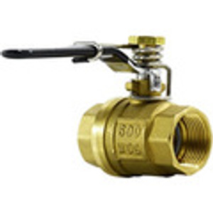 Spring Handle Brass Ball Valves