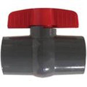 Grey Socket PVC Ball Valves