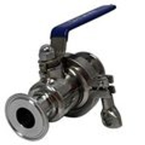 Tri-Clamp Ball Valves Quick Clean