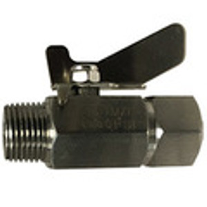 Male x Female Mini Ball Valves Butterfly Handle