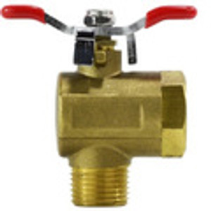 Right Angle Brass Ball Valves