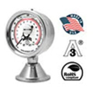 Stainless Steel Sanitary Gauges