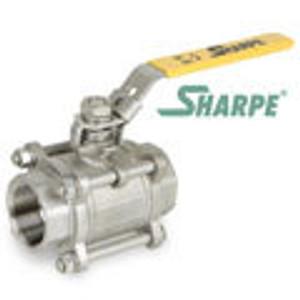 1000WOG Full Port 3 Pc. Ball Valves Sharpe 39036