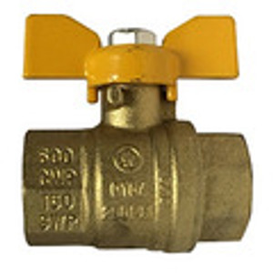 Full Port Butterfly Handle Ball Valves