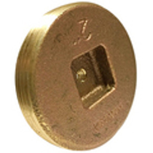 Tapped Countersunk Square Head Cleanout Plugs
