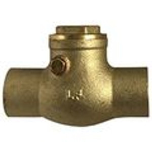 Swing Check Valves CxC Lead Free Brass