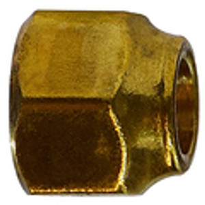 Extra Heavy Short Forged Nuts Brass SAE 45 Flare