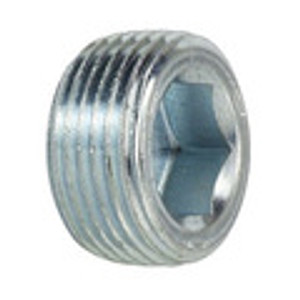 Flush Hollow Hex Plug 7/8 Taper