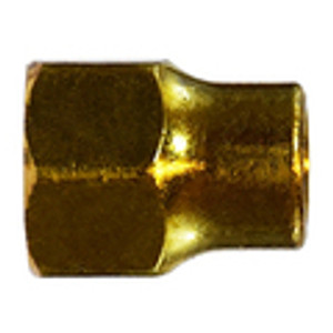 Long Forged Nuts Brass SAE 45 Flare