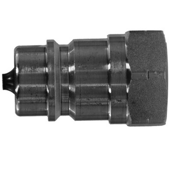 1/4 in. ISO-A Female Pipe Plug Quick Disconnect Hydraulic Adapter