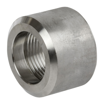 1/2 in. Threaded NPT Half Coupling 316/316L 3000LB Stainless Steel Pipe Fitting