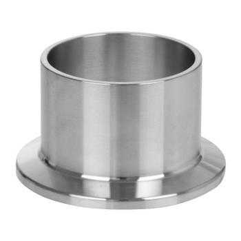 L14AM7 Long Weld Ferrule Hygienic (3A) 304 Stainless Steel Sanitary Clamp Fitting