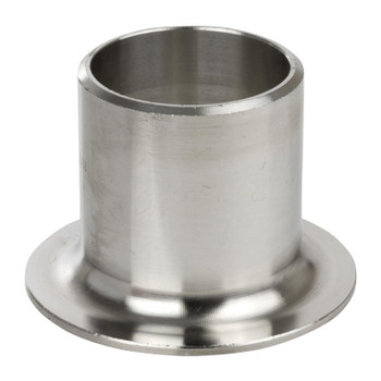 3 in. Stub End, SCH 10 MSS Type A, 316/316L Stainless Steel Weld Fittings